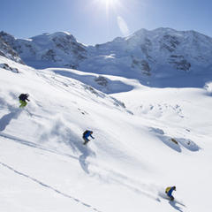 Skiing St. Moritz - © swiss-image.ch/Andrea Badrutt