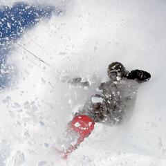 Snowkiter w akcji - © Globalwaters Haugastøl