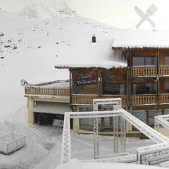 Sneeuw in Val Thorens op 20 november 2013
