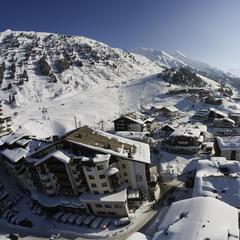 Dach Alp - najwyżej położone ośrodki narciarskie Europy - ©Obergurgl-Hochgurgl
