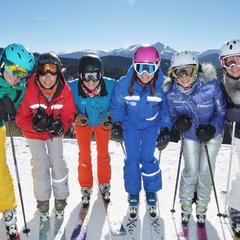She Skis women's clinic, 2014. - © EpicMix
