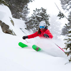 "Ski testers have a ""rough life."""