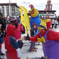 Les grands événements de l'hiver en Savoie Mont Blanc - ©OT Les Menuires