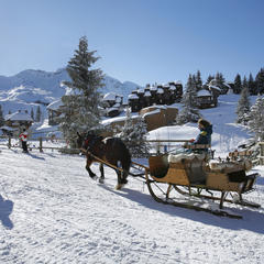 Car-free ski resorts: Greener, safer, quieter - ©Gilles Galas / Avoriaz Tourisme