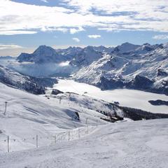 3 motivi per sciare in Engadina: Furtschellas - Corvatsch