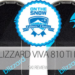 2015 Women's Frontside Editors' Choice Ski: Blizzard Viva 810 TI IQ - ©Blizzard