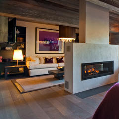 Master suite at The Lodge in Verbier - © The Lodge
