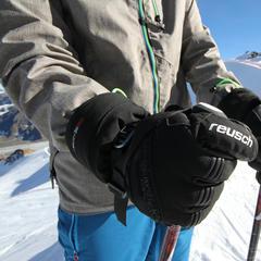 Der Reusch Volcano GTX® im Skiinfo-Test auf dem Pitztaler Gletscher - © Skiinfo