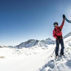 Lodowiec Stubai - © Tourismusverband Stubai Tirol