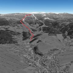 Rokytnice nad Jizerou, Horní Domky: 2. nejdelší sjezdovka v České republice - © OnTheSnow