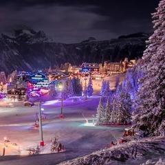 10 motivi per passare il Natale in montagna - ©OT de Courchevel