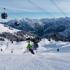 Skigebiet Fellhorn-Kanzelwand - © Bergbahnen Oberstdorf/Kleinwalsertal