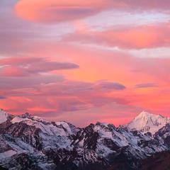 Blick von der Monte Leone Hütte zum Weisshorn - © Iris Kürschner, powerpress.ch