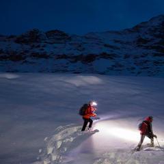 Schneeschuhtour am Fuße des Eiger - ©Iris Kürschner