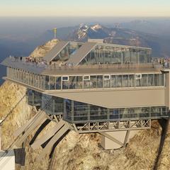 Gondola Eibsee - Zugspitze - © Bayerische Zugspitzbahn Hasenauer Architekten