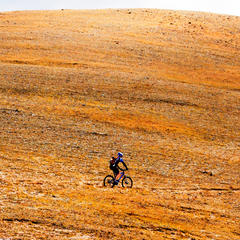 Rider Kris Plemmons, Monarch Crest Trail - © Josh Cooley