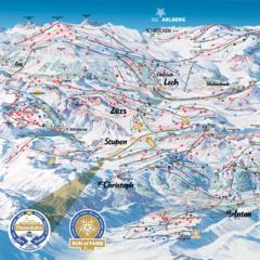 Na przełęczy Arlberg powstanie największy połączony region narciarski Austrii [wizualizacje] - ©Ski Arlberg