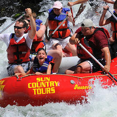 Big Eddy river - ©Sun Country Tours