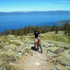 Biking Lake Tahoe - ©Tahoe Rim Trail
