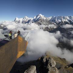 Nervenkitzel in den Alpen: Wege zwischen Himmel und Erde  - © Schilthorn Bahn