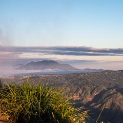 Blick vom Kraterrand des Batur - ©Sebastian Lindemeyer