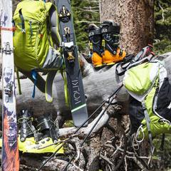 Alpine Touring and randonee gear - © Liam Doran