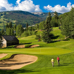 Beaver Creek Golf Club's RTJ Jr.-designed course  - © Jack Affleck