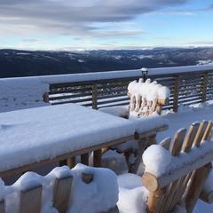 Den første snøen - © Hafjell alpinsenter