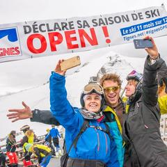 Tignes now open for glacier skiing - ©Andy Parant Photographie