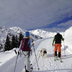 Skitury w Mayrhofen - © Stefanie Eder