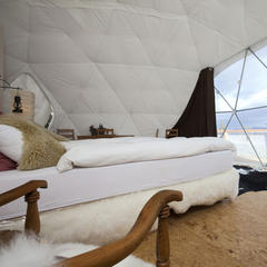 Whitepod Hotel, Les Cerniers, Switzerland - © Whitepod