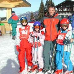 Granny Skis Free At Christmas