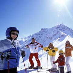 Rodinná lyžovačka v Oberndorfu