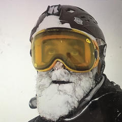 Powder beard