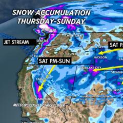 2.27 Snow Before You Go: Late Weekend Storm System - ©Meteorologist Chris Tomer