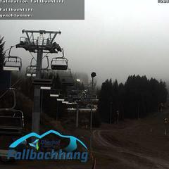 Skihang in Oberhof Ende November 2019