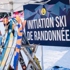 Tester le ski de randonner durant le week-end carte blanche de Saint Gervais - © STBMA