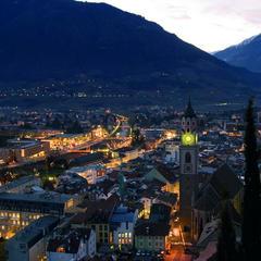 Pohľad na mestečko Merano - © Sudtirol