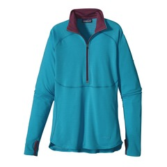 The Best Baselayers to Keep You Warm and Dry This Winter: Patagonia Women's Capilene 4 Expedition Weight Zip-Neck