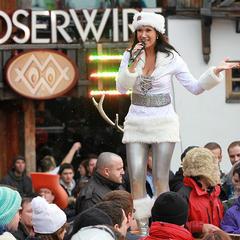 Antonia aus Tirol bij de Après Ski Hits in de Mooserwirt in St. Anton - © RTL II / Matthias Bein