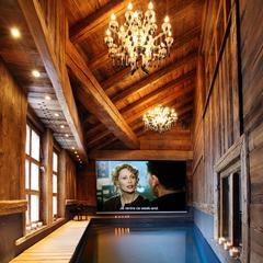 Pool at Chalet Lhotse, Val d'Isere - © Consensio