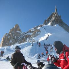 The world's biggest lift-served verticals - ©Chamonix Tourist Office