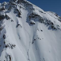 A steep face at Silverton Mountain. - ©Silverton Mountain