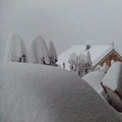 Gallery: Huge snow dumps in the French Alps