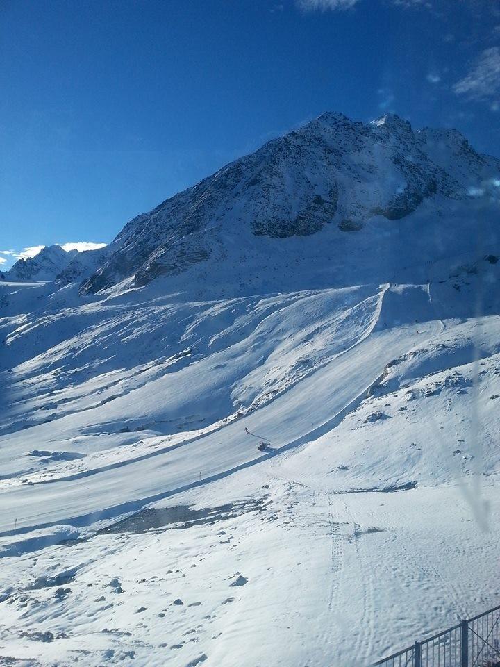 Pitztal glacier, Oct. 27, 2013