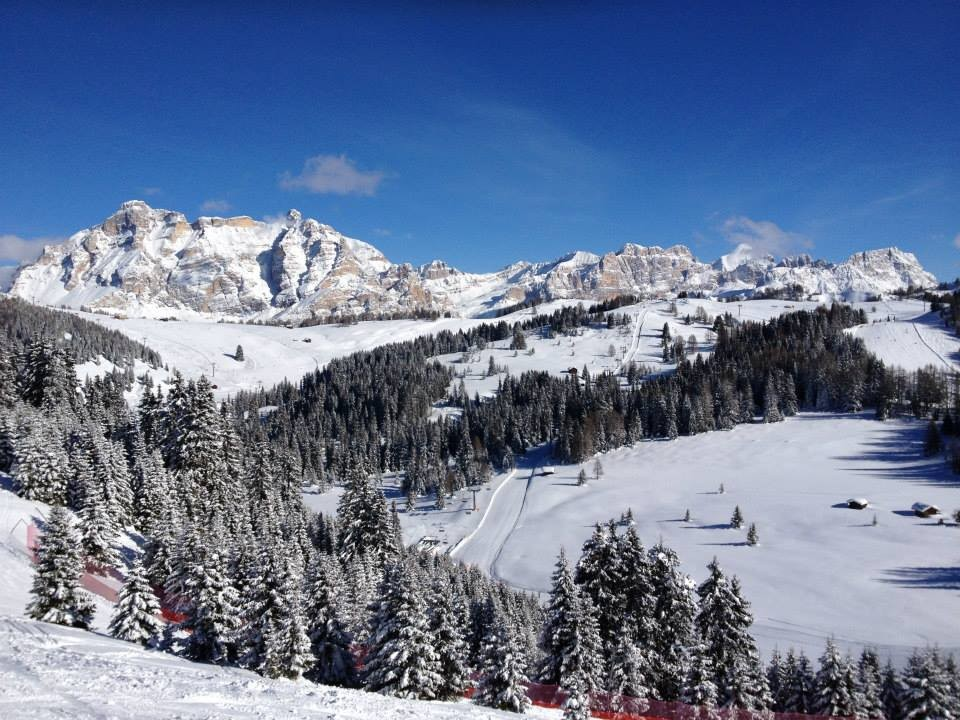 Alta Badia (Jan. 29, 2014) is expecting more than 1.5 metres of snow over next four daysundefined
