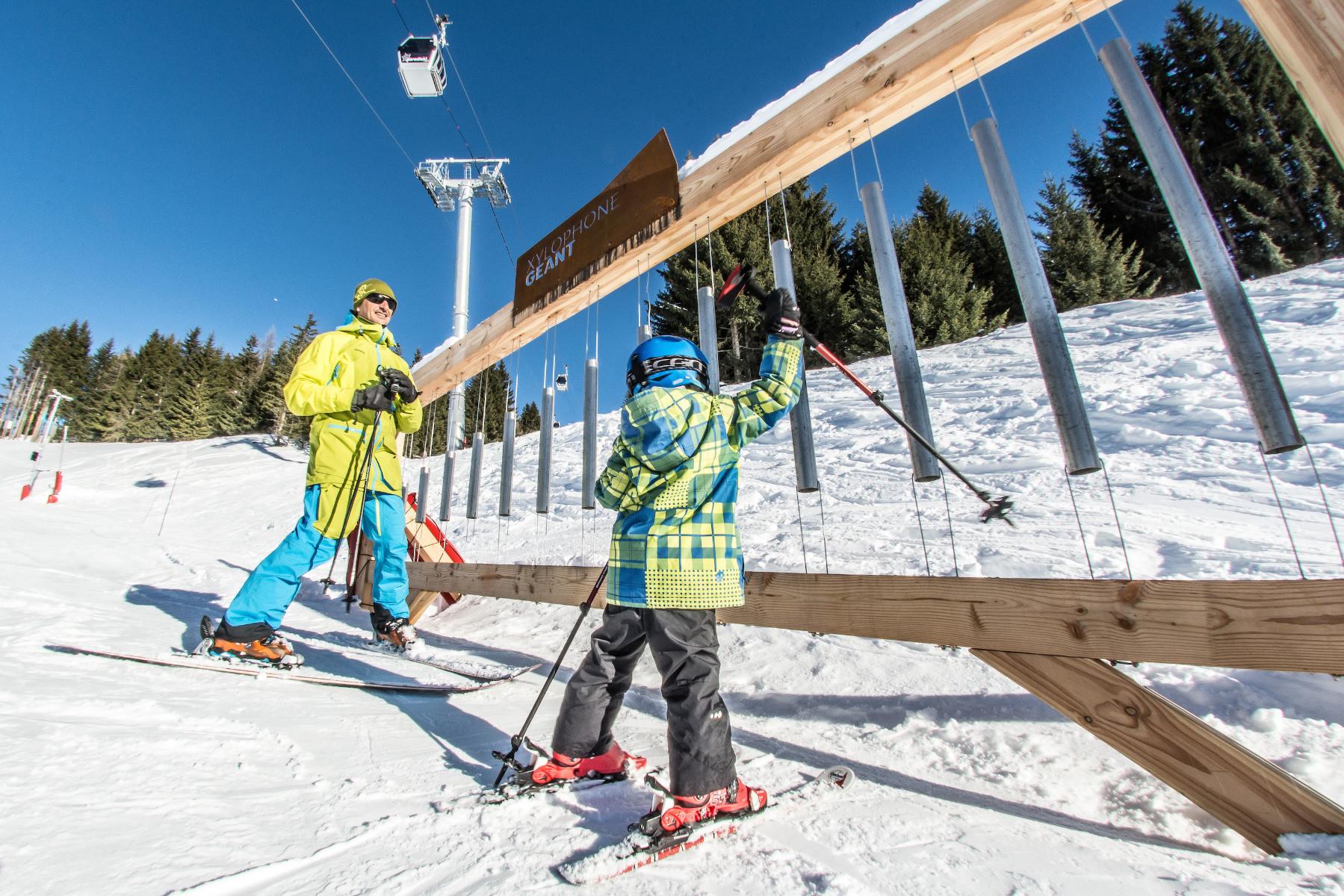 Les arcs plan des pistes de ski les arcs - Office de tourisme de bourg saint maurice ...
