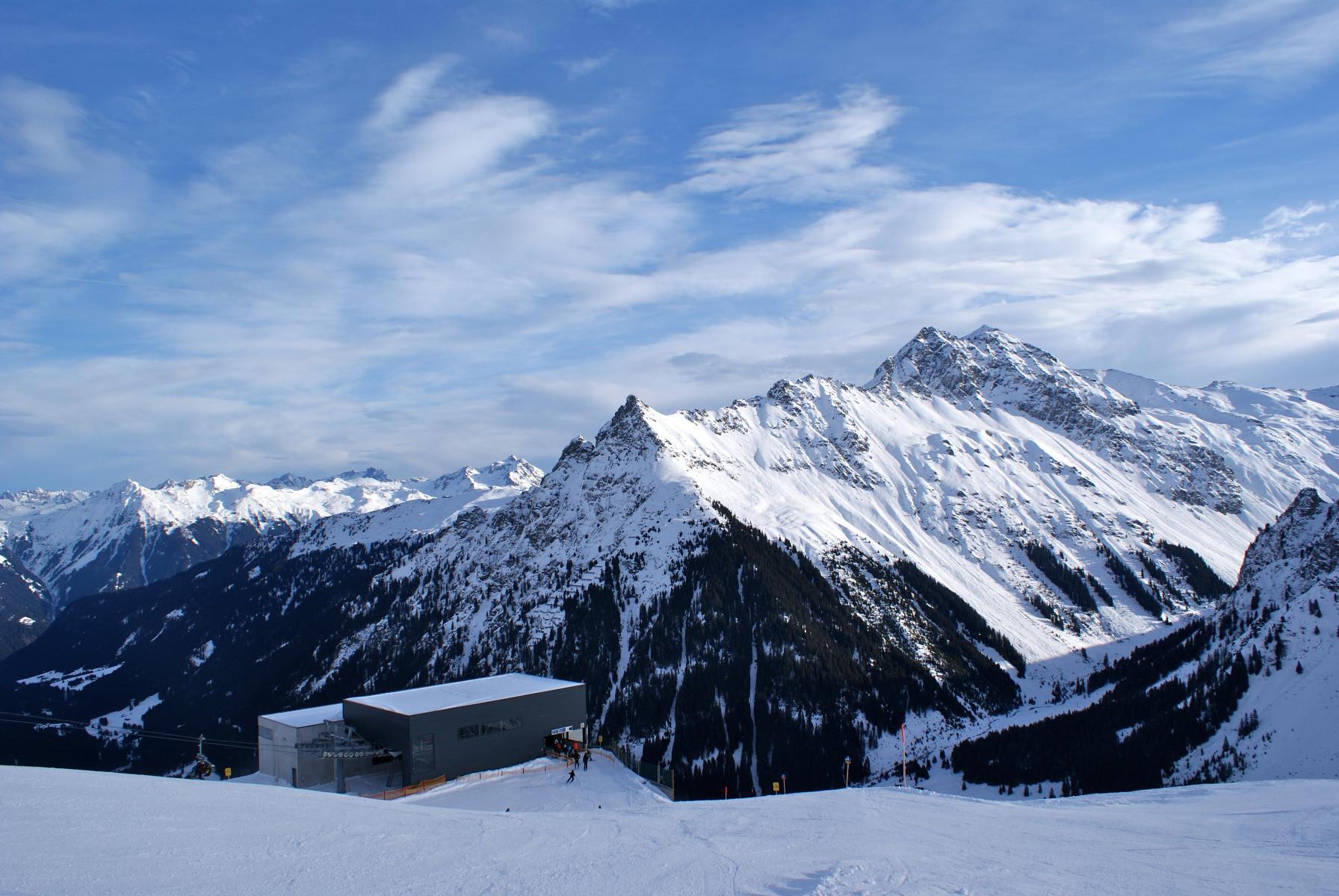 Skifahren in Gargellen