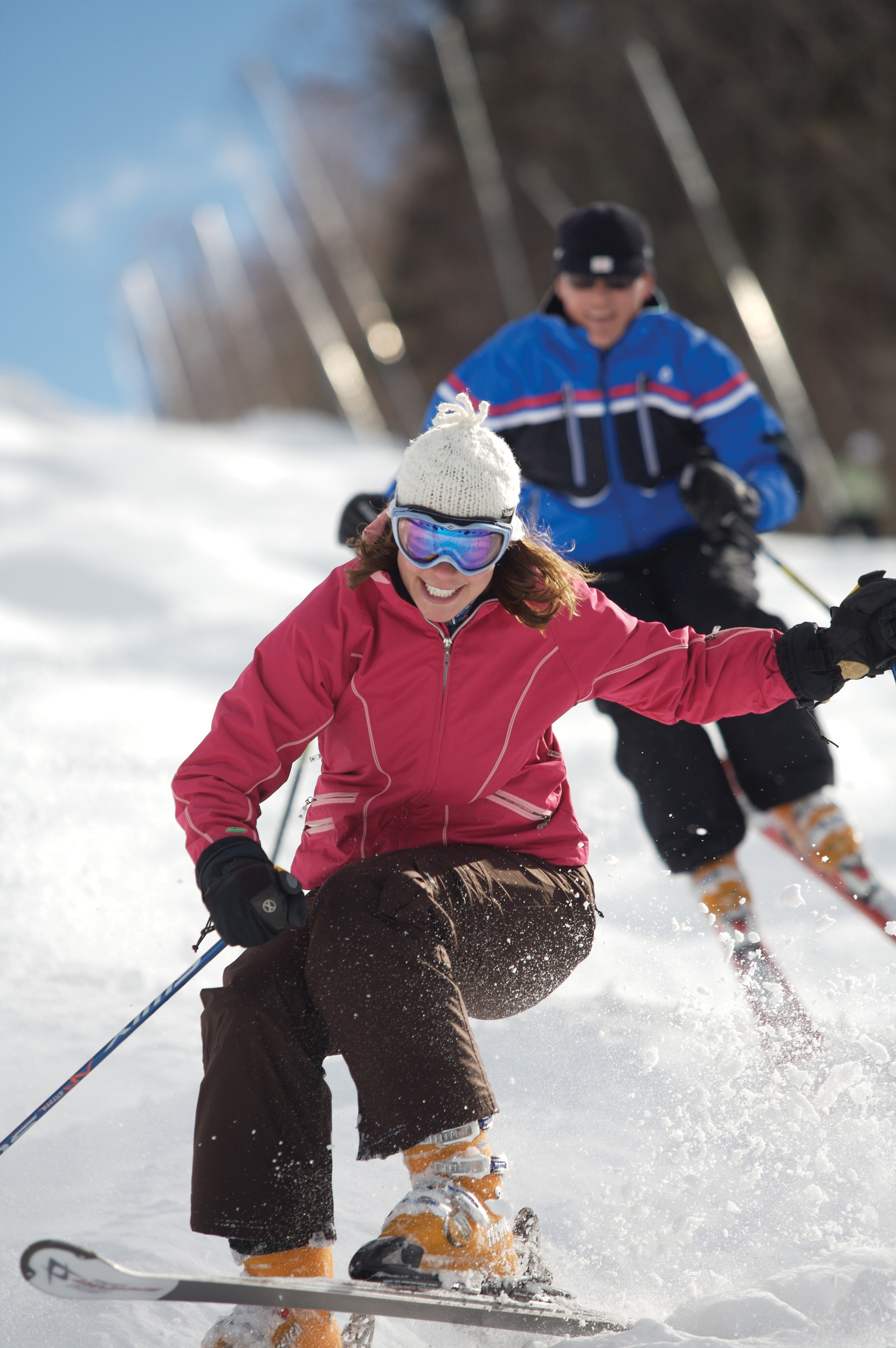 Mount Sunapee Co-ed Skiing