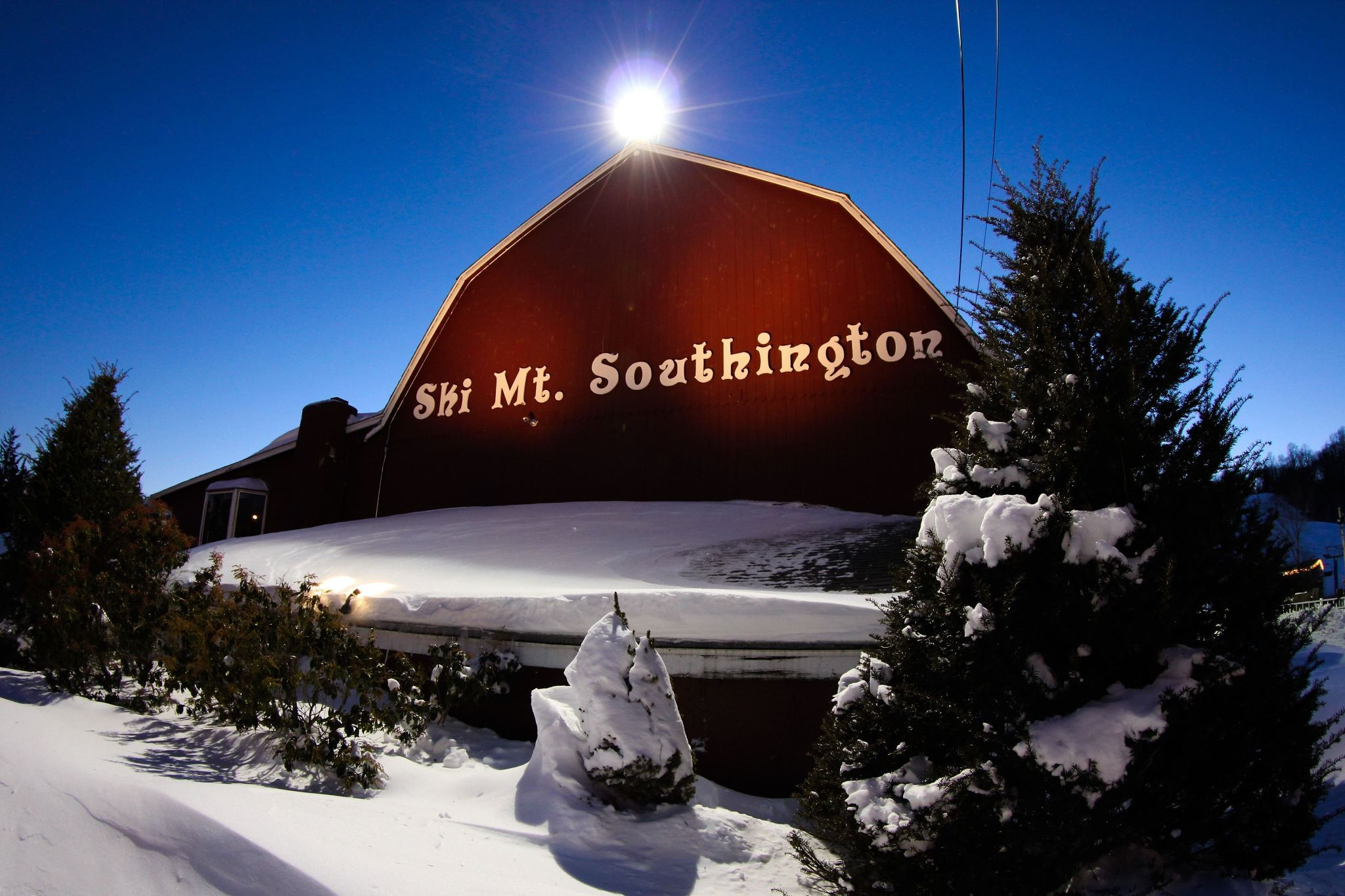Lots of new snow at Mt. Southington.undefined